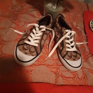 Coach Canvas Sneakers